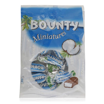 Bounty Minitures Chocolate Coconut – 150g