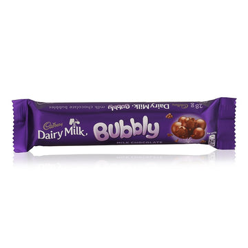 Cadbury Dairy Milk Bubbly Chocolate - 28 g