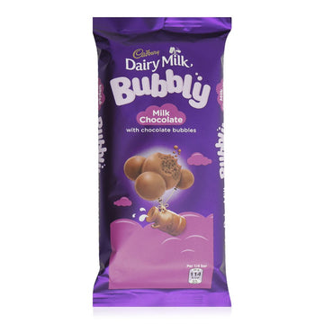 Cadbury Dairy Milk Bubbly Chocolate Bar - 87 g