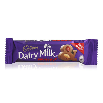 Cadbury Dairy Milk Fruit & Nut Bar - 37 g