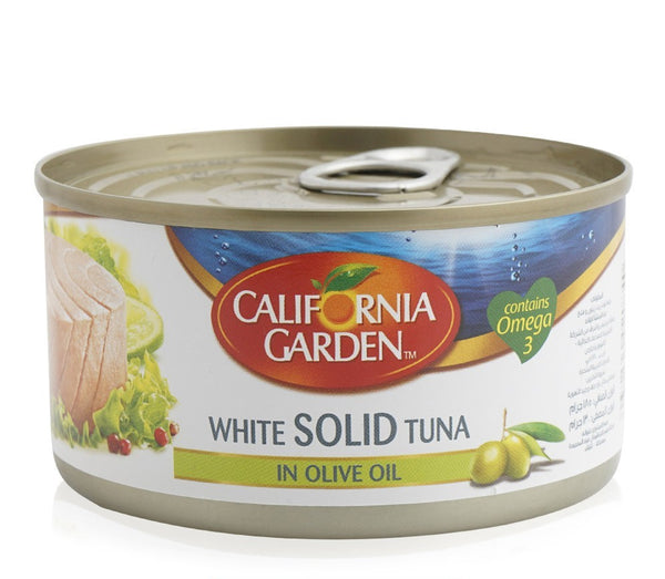 California Garden with Solid Tuna in Olive Oil, Omega 3 Fatty Acids, 185 g