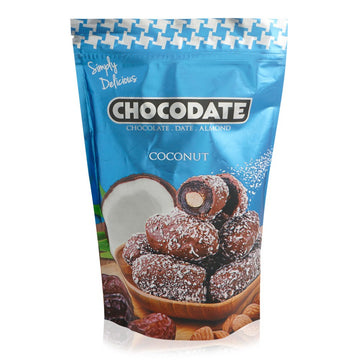 Chocodate Coconut Almonds Chocodate - 250 g