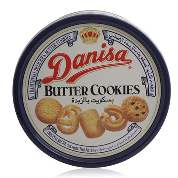 Danisa Traditional Delicious Butter Cookies, 375 gm