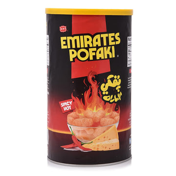 Emirates Pofaki Curls - Spicy Hot Cheese Flavor, 80 g