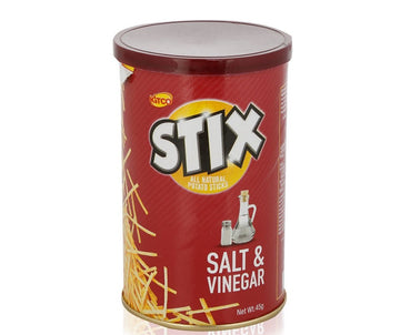 Kitco Stix Salt & Vinegar Potato Sticks - 45 g