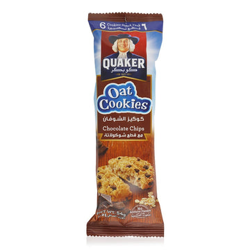 Quaker Chocolate Chips Oat Cookies, 54g
