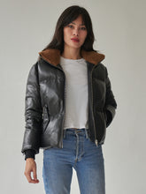 Load image into Gallery viewer, Bella Leather Puffer