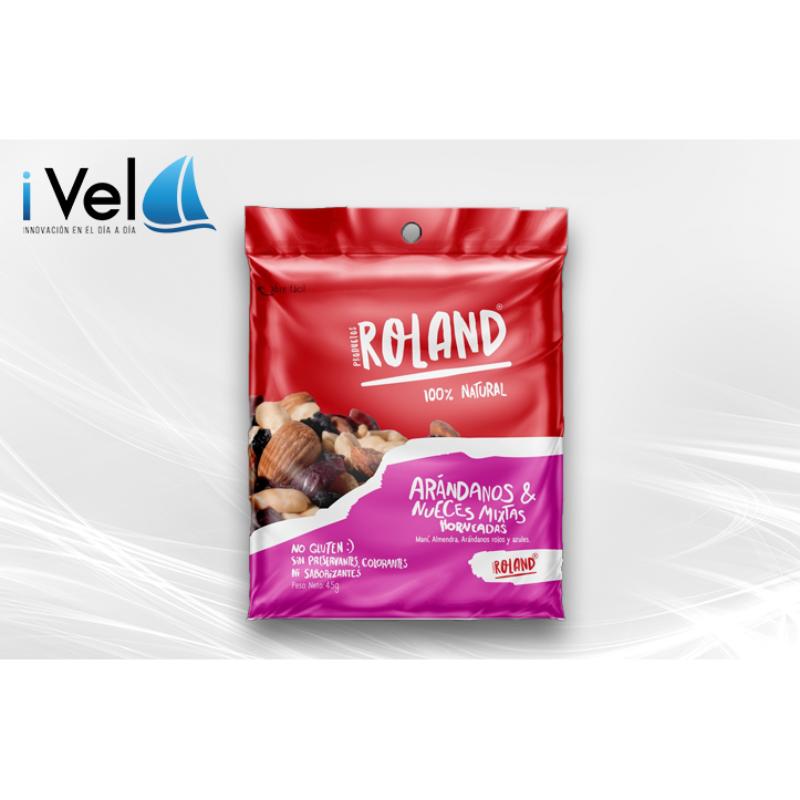 Arandanos Y Nueces Mixtas 45g - encaja.club