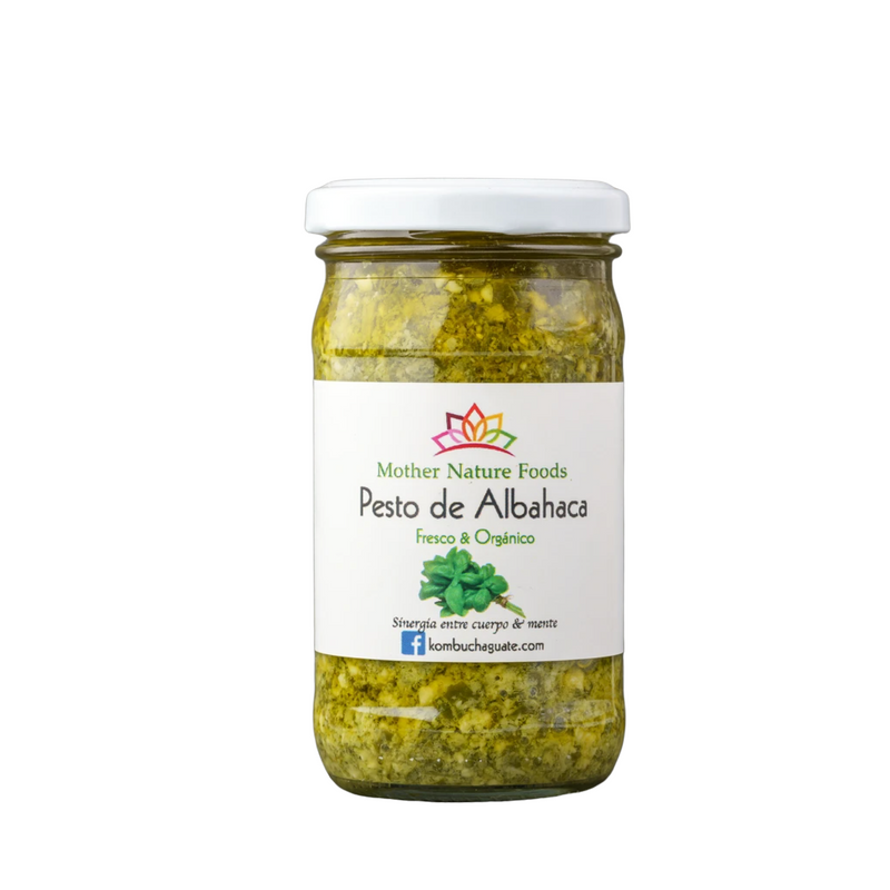 Pesto de Albahaca (4oz) - encaja.club