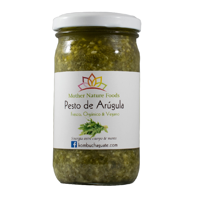 Pesto de Arugula (8oz) - encaja.club