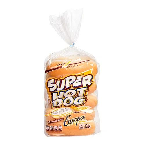 Super Hot Dog Europa (10 panes)  - encaja.club