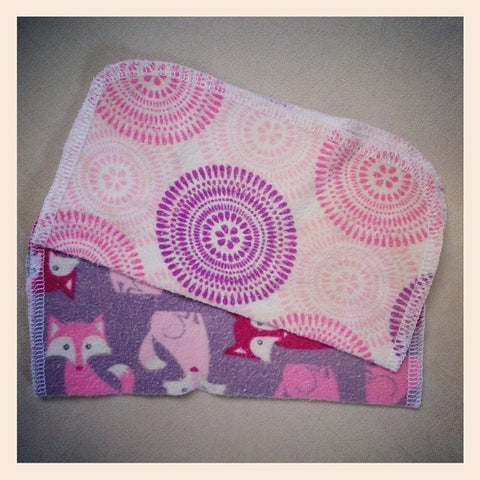 Flannel Cloth Wipes