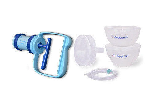 freemie equality double manual breast pump