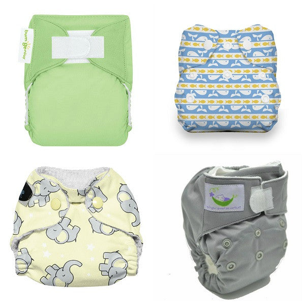 Rent newborn AIO diapers