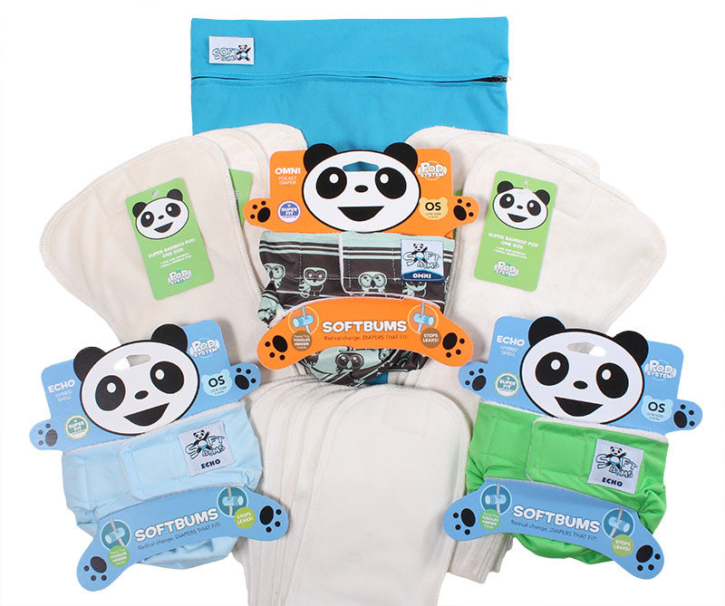 SoftBums bamboo starter bundle