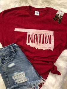 Oklahoma Native Tee