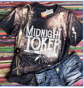 Bleached Midnight Toker