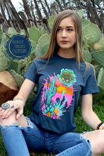 Load image into Gallery viewer, Prickly Peach Tee