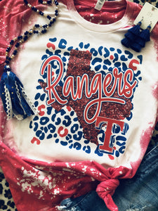Texas Rangers Spirit Tees