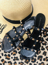Load image into Gallery viewer, Stud Wild Diva Sandals