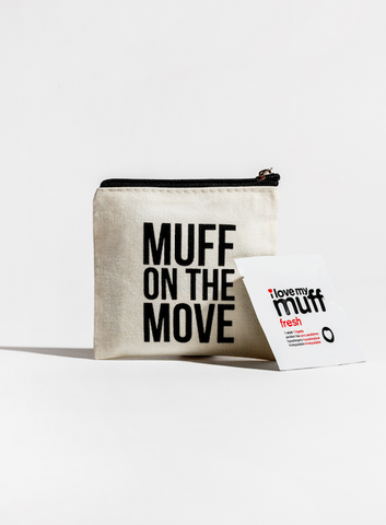 Muff On The Move - 6pk fresh wipes