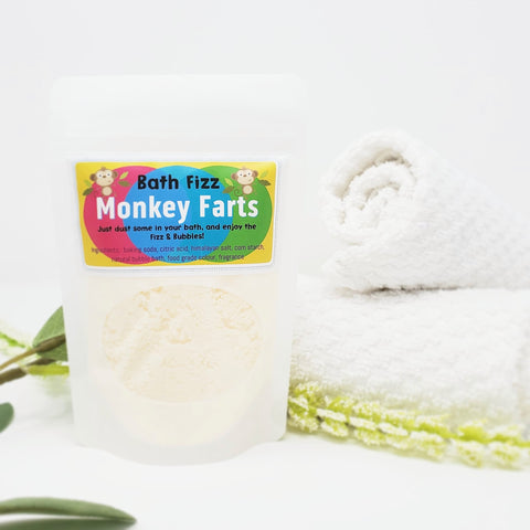Bath Fizz - Monkey Farts! (100g)