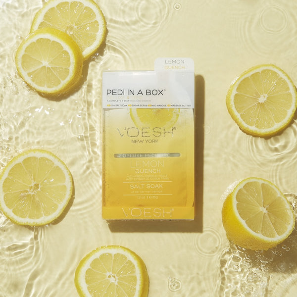 Pedi in a Box - Lemon Quench (4 Step)