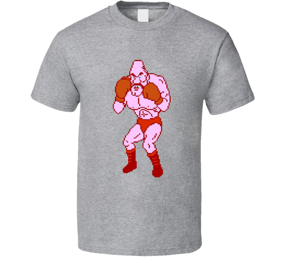 Soda Popinski 8 Bit Mike Tyson's Punch Out Boxing Video Game T Shirt