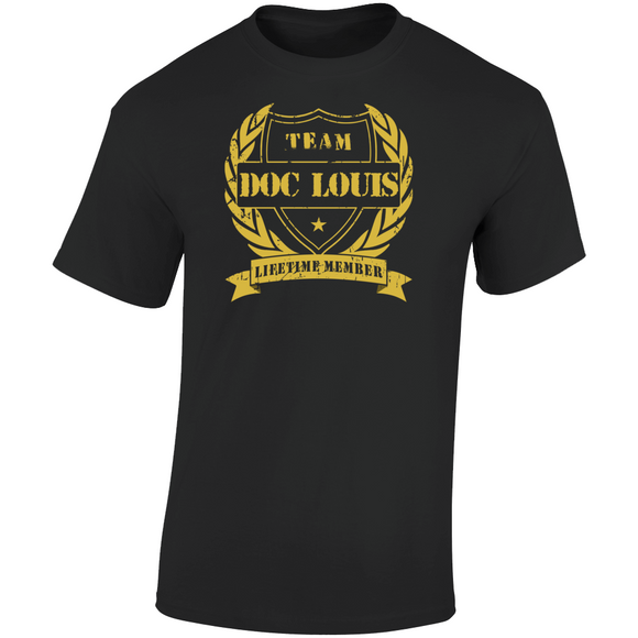 Doc Louis Mike Tyson's Punch Out Team Doc Louis Boxing Retro Video Game T Shirt