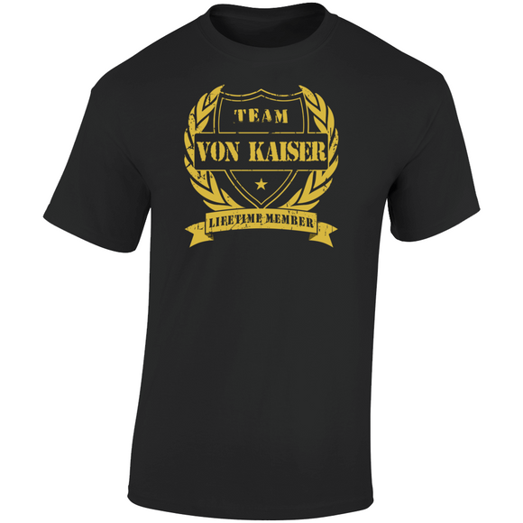 Von Kaiser Punch Out Team Von Kaiser Boxing Retro Video Game T Shirt
