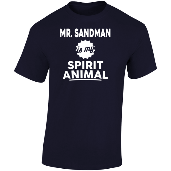 Mr Sandman Punchout Spirit Animal Boxing Retro Video Game T Shirt