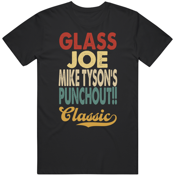 Glass Joe Punchout Classic Boxing Retro Video Game T Shirt
