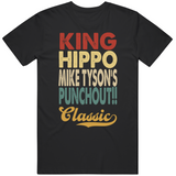 King Hippo Mike Tyson's Punchout Classic Boxing Retro Video Game T Shirt