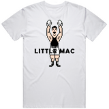 Little Mac Arms Raised Punchout Retro Video Game Boxing V2 T Shirt