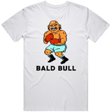 Bald Bull Stance Punchout Retro Video Game Boxing T Shirt