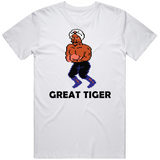 Great Tiger Stance Mike Tyson's Punchout Retro Video Game Boxing T Shirt