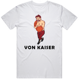 Von Kaiser Stance Punchout Retro Video Game Boxing T Shirt