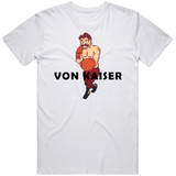 Von Kaiser Stance Punchout Retro Video Game Boxing V2 T Shirt