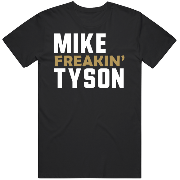 Mike Tyson Freakin Mike Tyson's Punchout Retro Video Game Boxing T Shirt