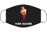 Von Kaiser Stance Punchout Retro Video Game Boxing Face Mask Cover