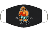 Bald Bull Stance Punchout Retro Video Game Boxing V2 Face Mask Cover