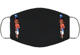 Don Flamenco Stance Punchout Retro Video Game Boxing Face Mask Cover