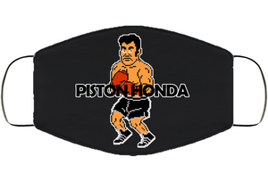 Piston Honda Stance  Punchout Retro Video Game Boxing V2 Face Mask Cover