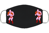 Soda Popinski Stance Punchout Retro Video Game Boxing Face Mask Cover