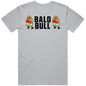 Ball Bull Stare Down Punchout Retro Video Game Boxing T Shirt