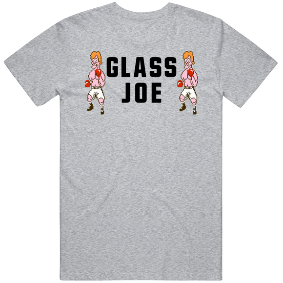 Glass Joe Stare Down Mike Tyson's Punchout Retro Video Game Boxing T Shirt