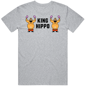 King Hippo Stare Down Punchout Retro Video Game Boxing T Shirt