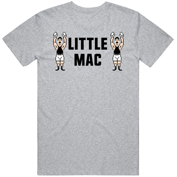 Little Mac Stare Down Mike Tyson's Punchout Retro Video Game Boxing T Shirt
