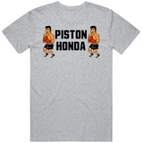 Piston Honda Stare Down Punchout Retro Video Game Boxing T Shirt