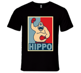 King Hippo Hope Punch Out Retro Video Game Boxing T Shirt